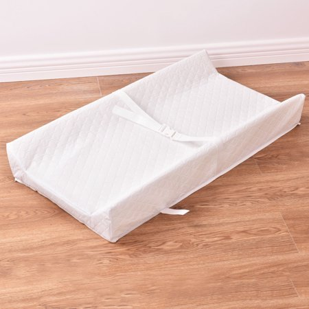 Costway Baby Table Contoured Changing Pad Diaper Change Nursery Cushion (Diaper Changing Pad)