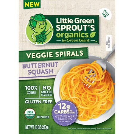 Green Giant Little Green Sprout's Organic Butternut Squash Veggie Spirals, 10 oz