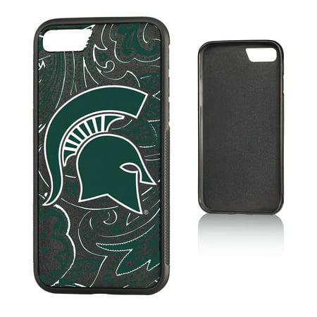 the best attitude 0ef99 fa306 MSU Michigan State Spartans Paisley Bump Case for iPhone 8 / 7
