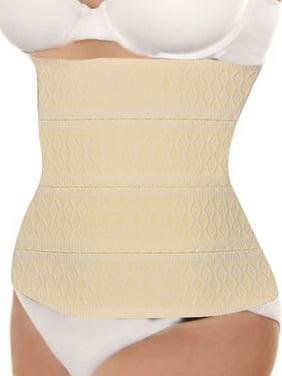 be7cab3f9fc Product Image Unique Bargains Women s Corset Girdle Elastic Tummy Trimmer  Waist Clincher Beige (Size ...