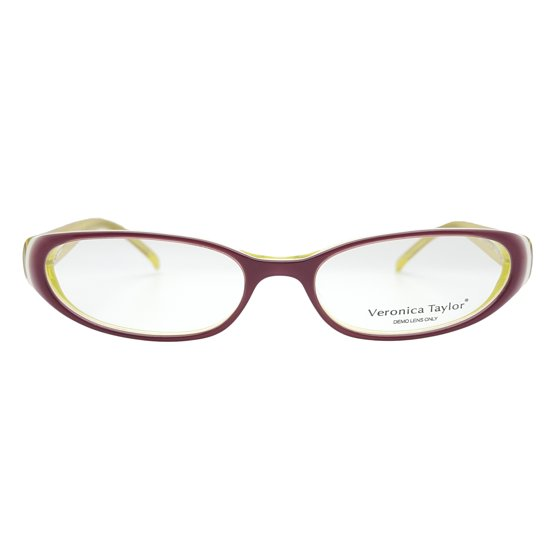 b310b7ee558c Veronica Taylor Women's Hepburn Eyeglasses Prescription Frames (Rose,  52-17-145) - Walmart.com