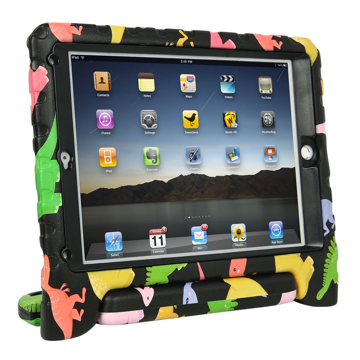 Babies fits iPad AIR AIR 2 Water Resistant Padded Tablet Holder for Children