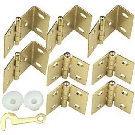 Brass Hinge Kit for Interior Wood Shutter (Eb Hinge Kit)