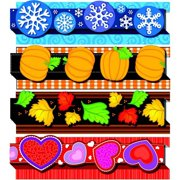 "Carson-Dellosa Pop it Seasonal Border, 36"" x 3"", Grades PreK to 8"