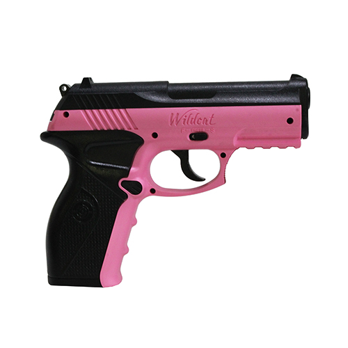 Crosman Wildcat Kit P10PNKKT CO2 Air Pistols (Pink) BB Air Pistol with Holster