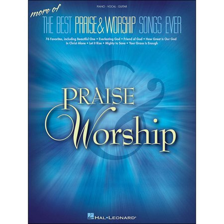 Hal Leonard More Of The Best Praise & Worship Songs Ever arranged for piano, vocal, and guitar
