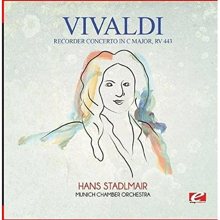 Vivaldi: Recorder Concerto in C Major, RV 443