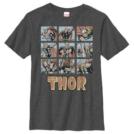 Cute Scene Boy (Marvel Classic Thor Battle Scenes Boys Graphic T)