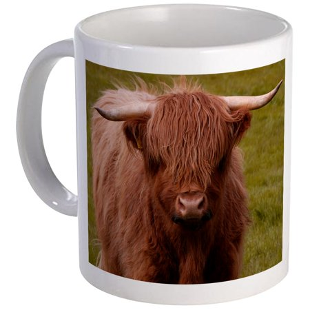CafePress - Scottish Highland Cow Mug - Unique Coffee Mug, Coffee Cup CafePress - Cow Print Cups