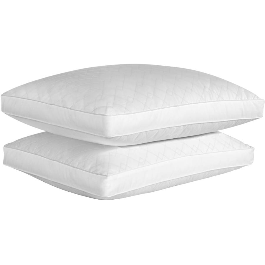 beautyrest luxury quilted down alternative pillow set of two