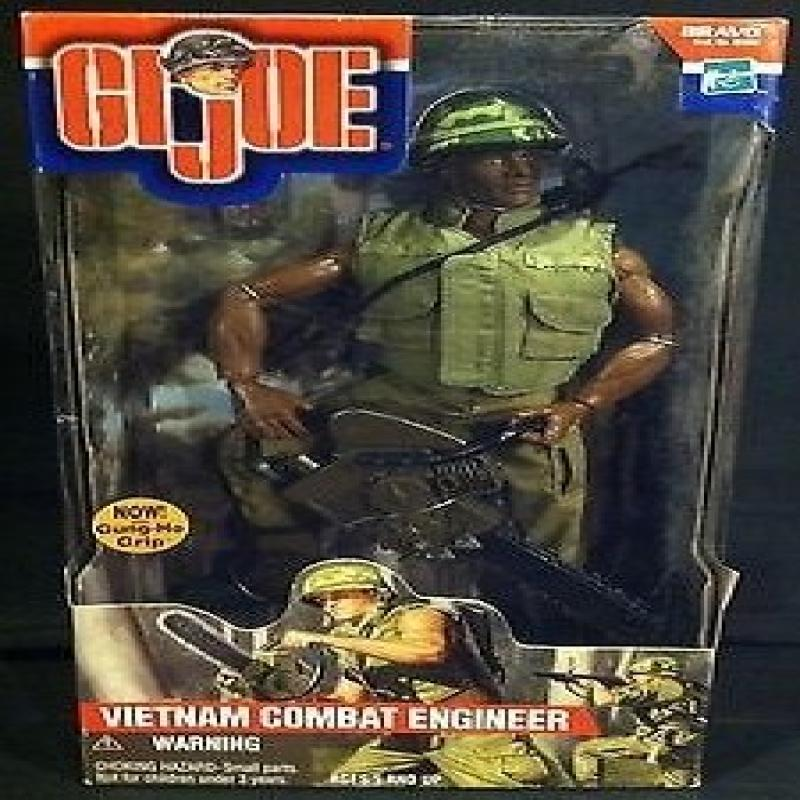 "G.I. Joe Vietnam Combat Engineer 12"" 1 6th Scale Action Figure (African American Variant) by"