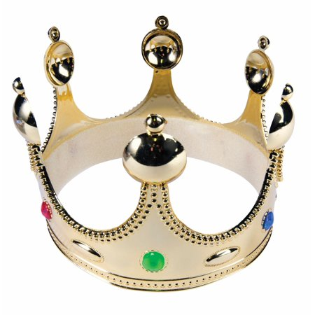 Childs King Crown - Rules For Halloween For Kids