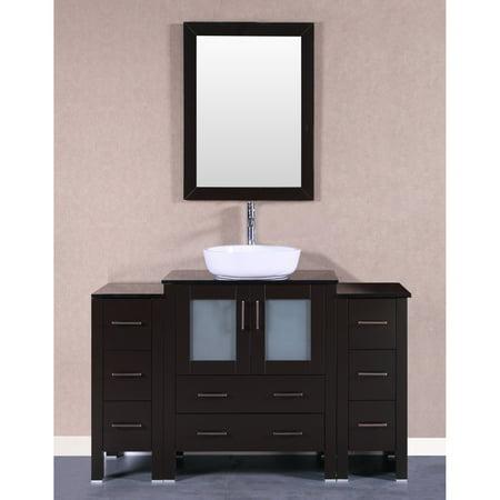48 Bosconi AB124BWLBG2S Single Vanity