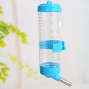OUTOP Hanging Water Bottle, Dispenser Feeder, No Drip, Leak Proof Water Kettle,80ml, Fit for Hamster, Guinea Pig, Rabbit, Dog