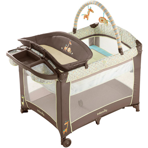 InGenuity by Bright Starts Smart & Simple Playard, Java Jungle