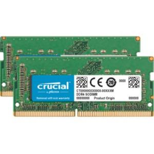 Crucial 32GB Kit (2x16GB) DDR4-2400 SODIMM Memory for Mac