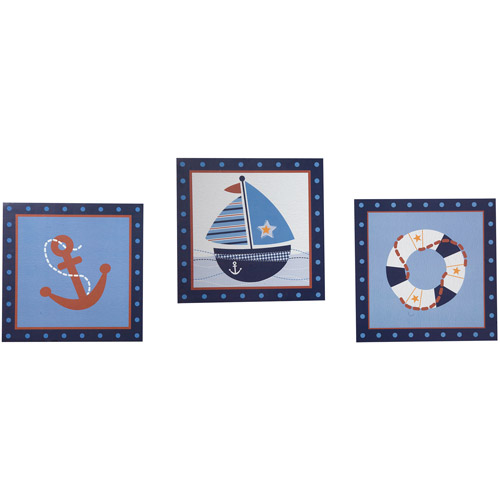 Lambs & Ivy Bedtime Originals Sail Away Wall Decor