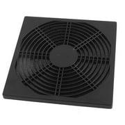 Unique Bargains Black Plastic Dustproof Mesh Dust Filter Cover Grill for PC Computer Case Fan