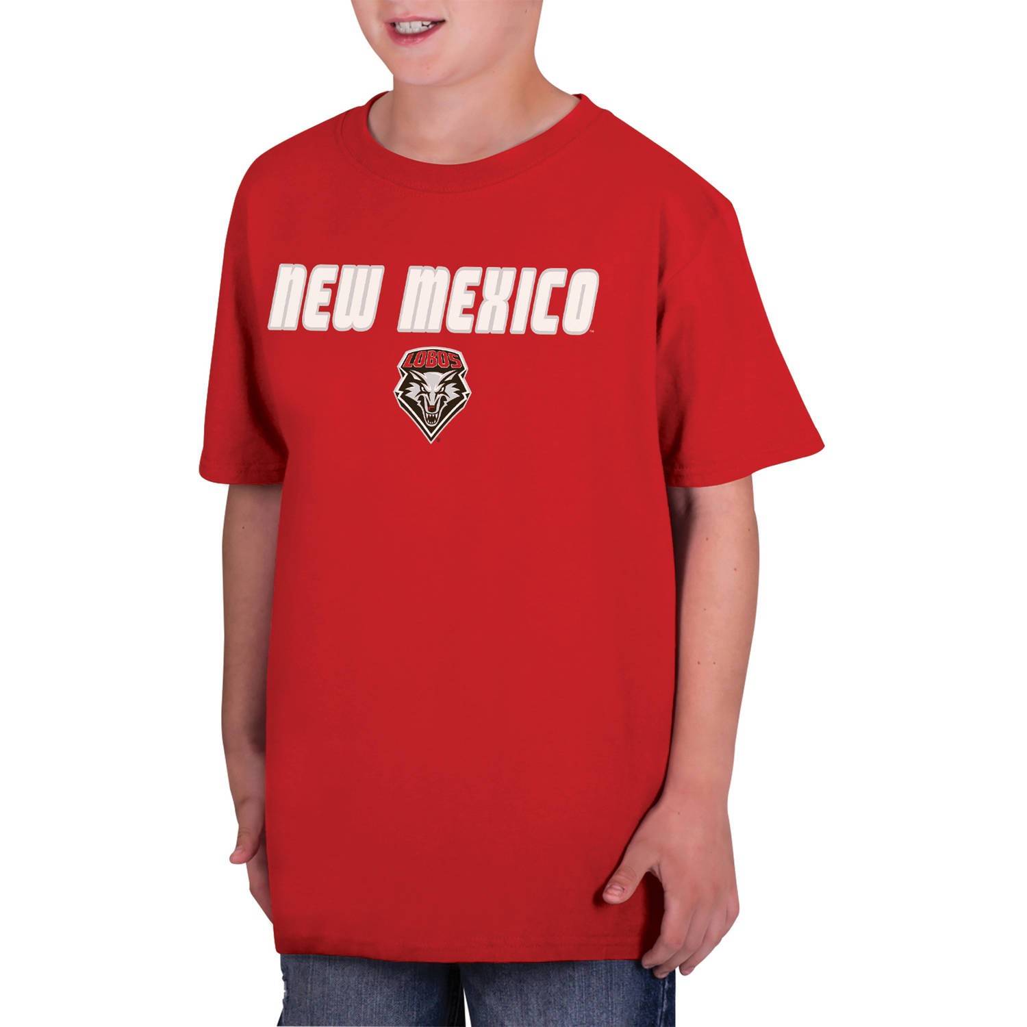 NCAA New Mexico Lobos  Boys Classic Cotton T-Shirt