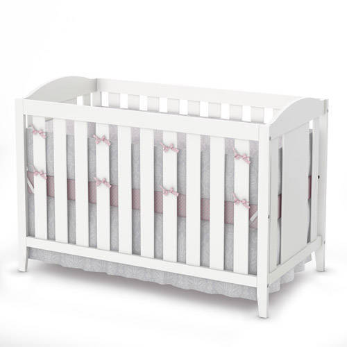 South Shore Savannah Collection Crib and Toddler Bed, Pure White
