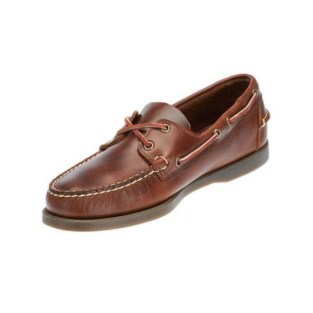 2894fd483e Sebago - Sebago Mens Docksides Leather Boat Shoes in Brown Oiled Waxy -  Walmart.com