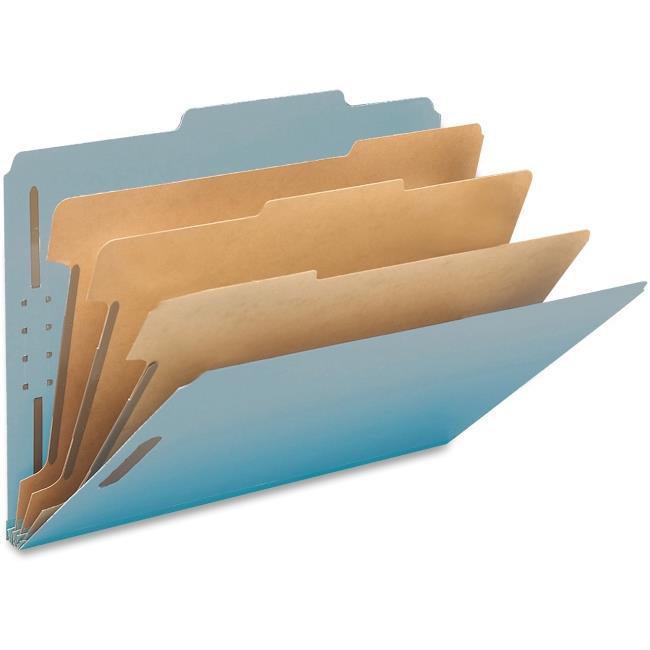 3-Divider Pressbrd Ltr Classificatn Folders - image 1 of 1