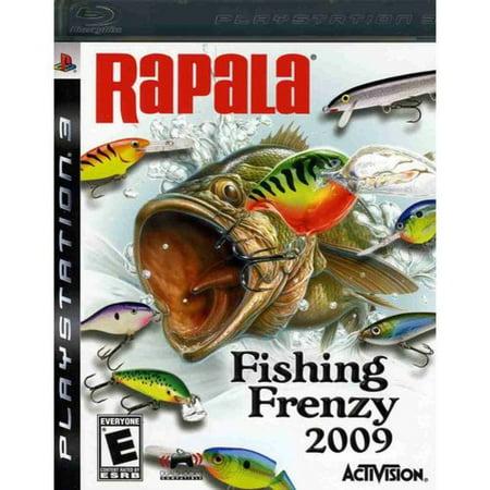 Refurbished activision rapala fishing frenzy 2009 ps3 for Rapala fishing frenzy 2009