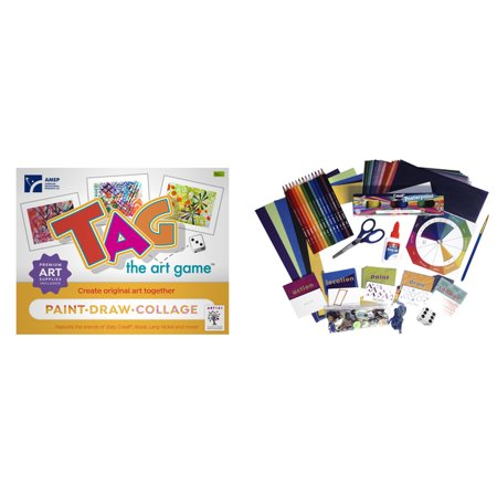 American Educational Products TAG the Art Game (Halloween 101 Games)