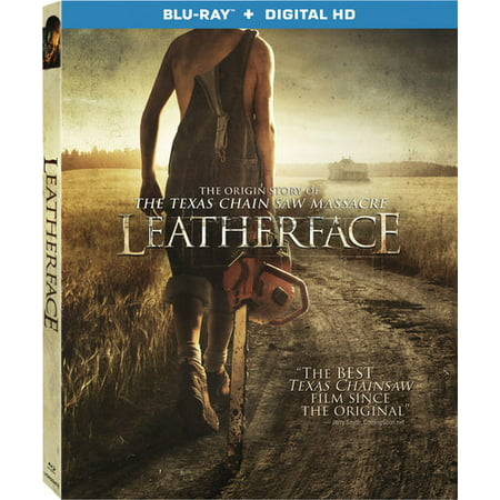Leatherface (Blu-ray + Digital HD)](Halloween Horror Nights Freddy Jason Leatherface)