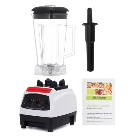 Perfect Blender - 0.53 Gal Countertop Blender 1200 Watt Base - High Performance Ice Crusher - Large Smoothie Blender, Food Processor Frozen Fruit or Hot Soups