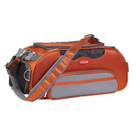 Teafco Argo AC51655L Aero-Pet Carrier - Airline Approved - Large - Orange