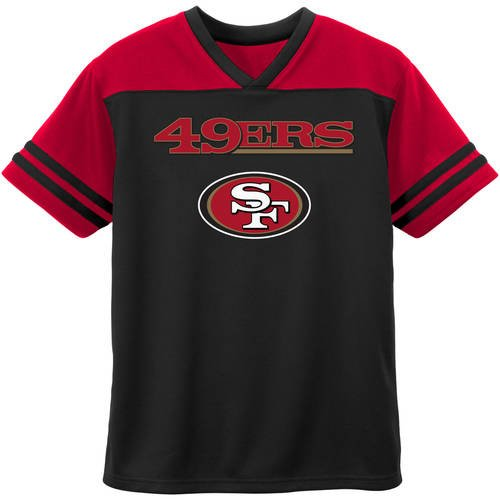NFL San Francisco 49ers Toddler Short Sleeve Fashion Top