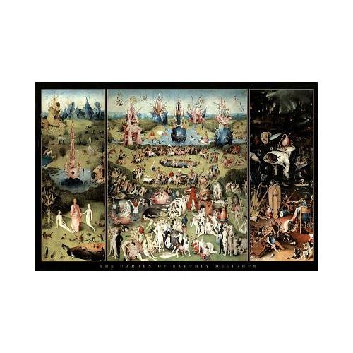 The Garden of Earthly Delights. One of my favorite