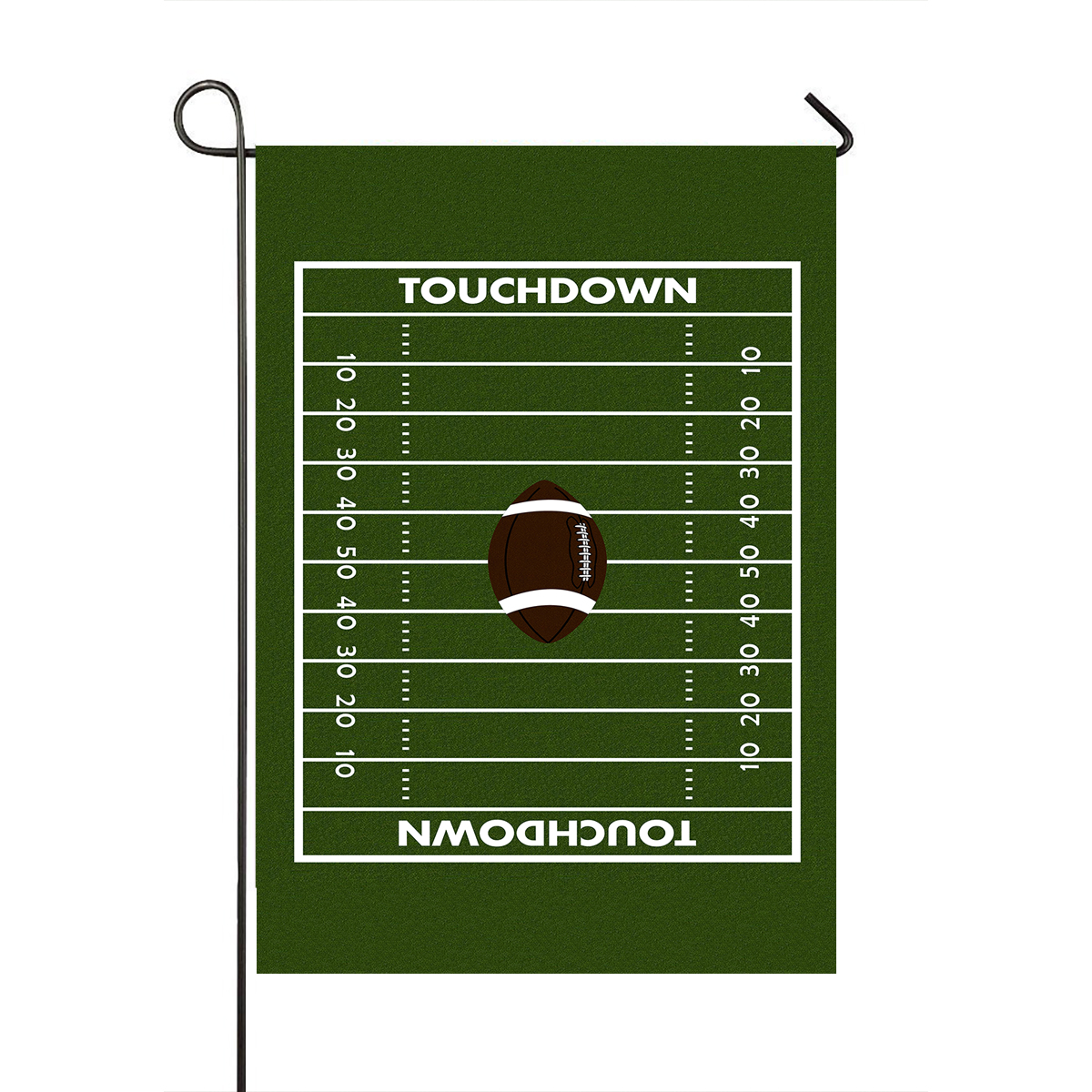 GCKG Football Ground Garden Flag,Football Ground Home Outdoor Garden Flag House Banner 12x18 inch - image 1 of 1