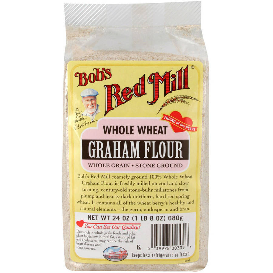 Bob's Red Mill Whole Wheat Graham Flour, 24 oz, (Pack of 4)