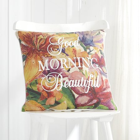 Mainstays Morning Beautiful Decorative (Beautiful Pillow)