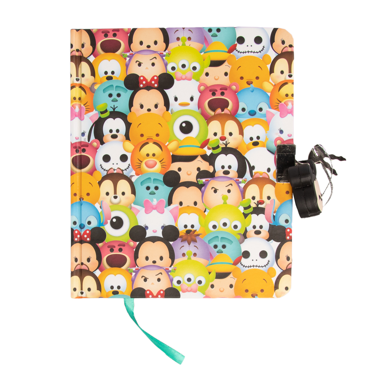 Fun89 Disney Tsum Tsum All Characters Diary with Molded Disney Lock Innovative Designs