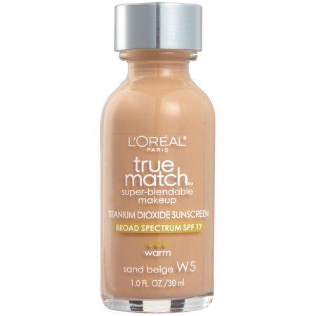LOreal Paris True Match Makeup W5 Sand Beige 1 fl oz