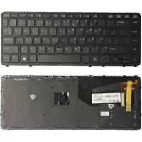 Laptop Keyboard Backlit with Frame for HP 840 G1 850 G1 Laptop P/N: 736654-001 NSK-CP2BV 9Z.N9JBV.201