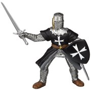 Papo Hospitaller Knight with Sword Figure, Multicolor