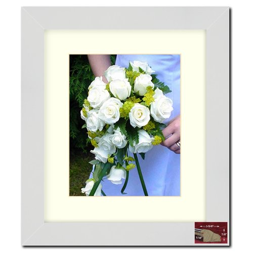 Frames By Mail 8'' x 10'' Frame in White Matte