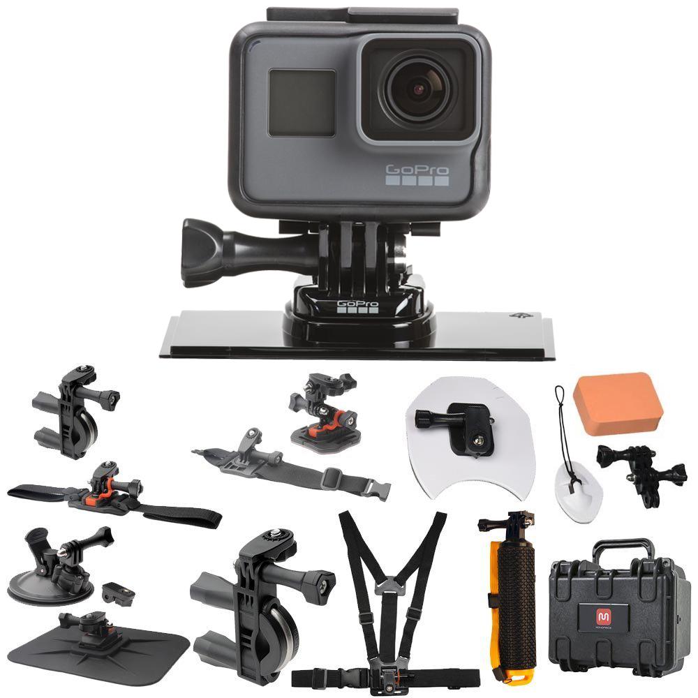 GoPro Hero 5 Black (CHDHX-501) All In One Hard Case Pro A...