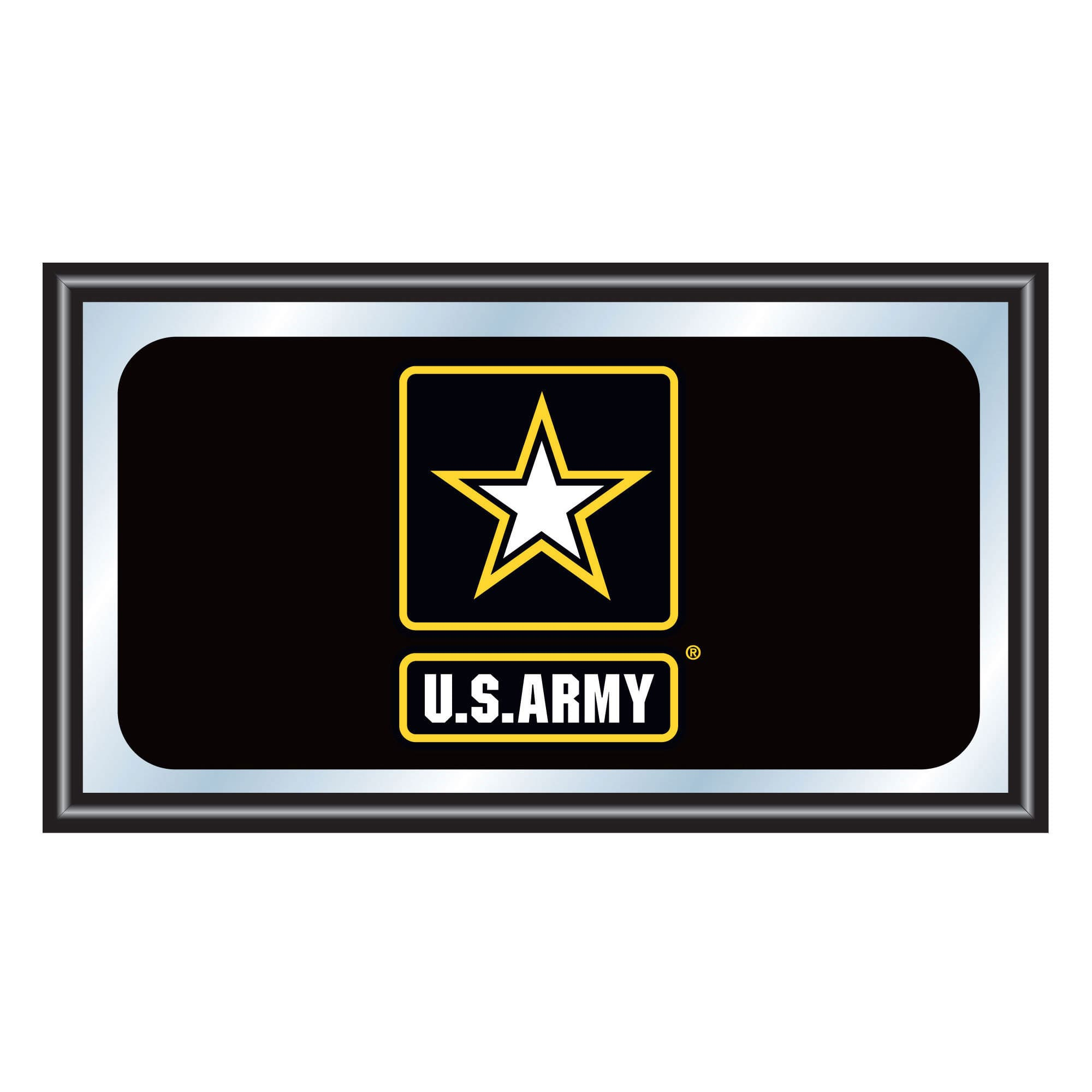Trademark Gameroom U.S. Army Framed Logo Mirror