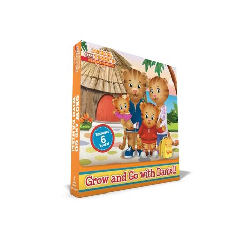Grow and Go with Daniel! : No Red Sweater for Daniel; Tiger Family Trip; Daniel Goes to the Carnival; Daniel Chooses to Be Kind; Daniel's First Babysitter; Daniel Has an