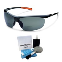 85c1cb21f0 Product Image Suncloud Zephyr Polarized Sunglass  Black  Gray Polycarbonate  + Cleaning Kit