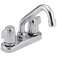 Delta Classic Two Handle Laundry Faucet in Chrome 2133LF