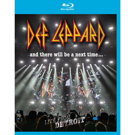 Def Leppard: And There Will Be a Next Time...: Live From Detroit (Blu-ray) - image 1 of 1