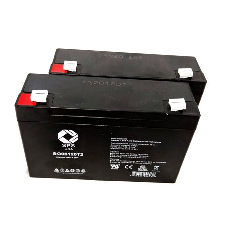SPS Brand 6V 12 Ah Replacement Battery for Best Power BAT-0063 (2