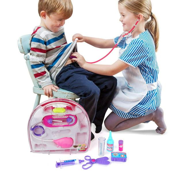 Kids Play Doctor Kit, Doctor Medical Kit Doctor Case Roleplay Toy Set for  Kids Children - Walmart.com - Walmart.com