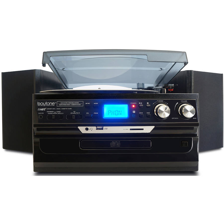 Boytone BT-24DJB Home Turntable System